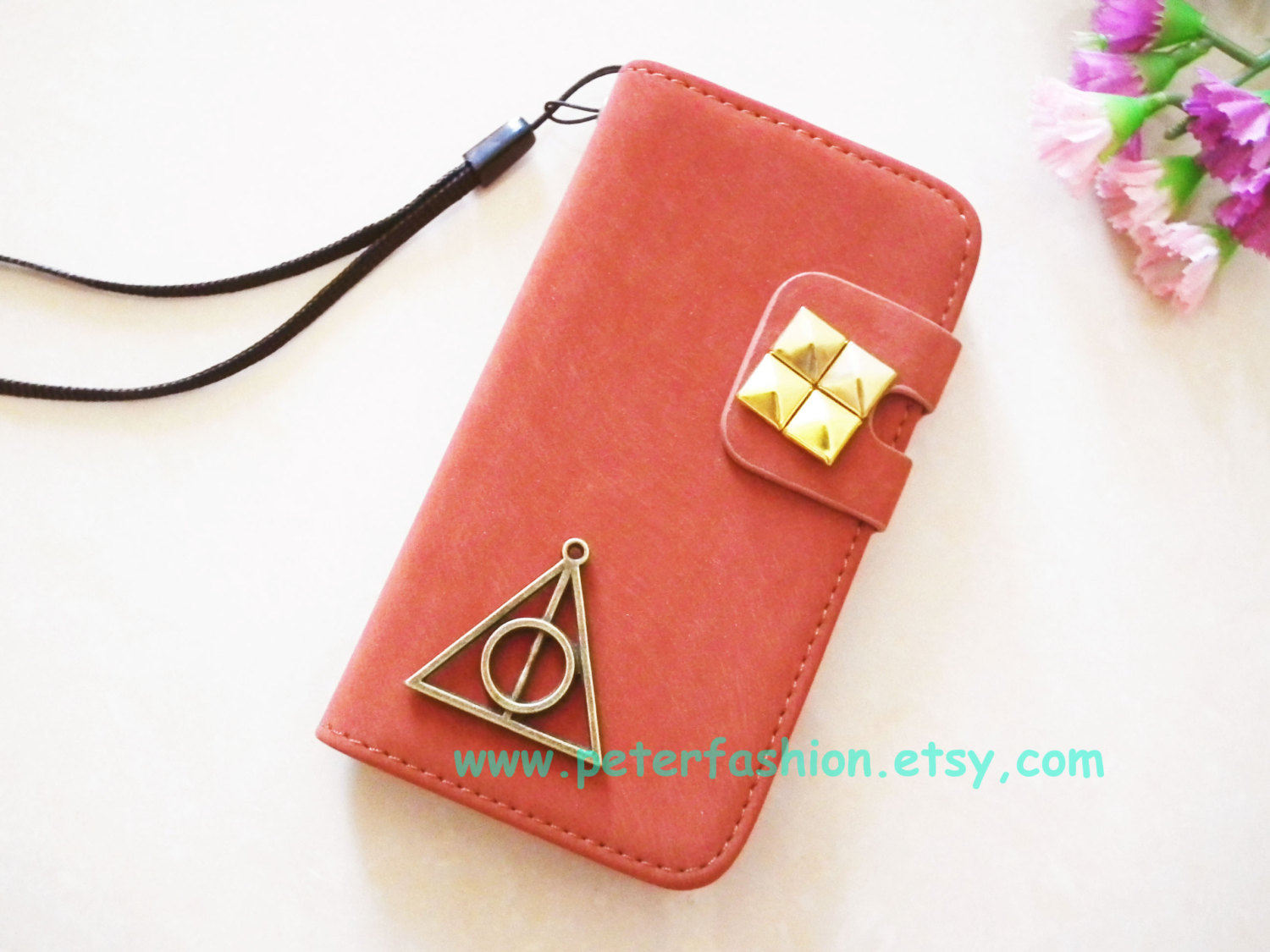 buy popular fd1ab 4c668 Burgundy IPhone 6 Plus Wallet Case, Harry Potter Deathly Hallow Iphone 5s  Case, Leather,samsung Note Pouch,iphone 5c Skin,galaxy S3 S4 Cover